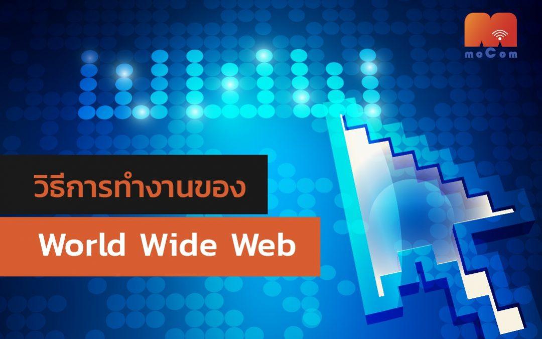 วิธีการทำงานของ World Wide Web